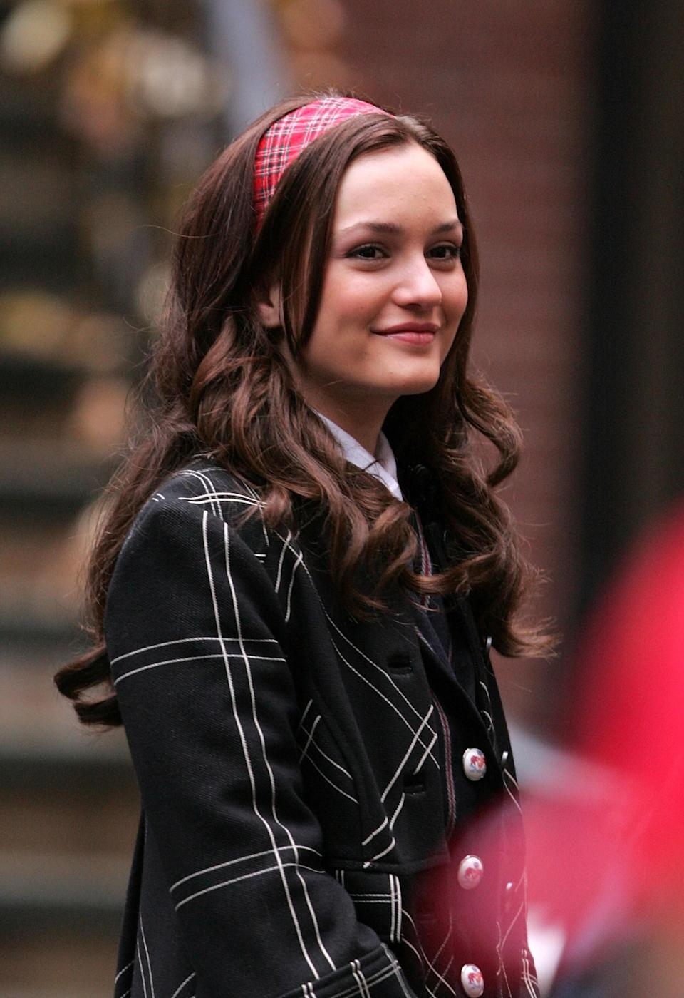"""<h1 class=""""title"""">On Location for """"Gossip Girl"""" - November 26, 2007</h1><cite class=""""credit"""">James Devaney</cite>"""