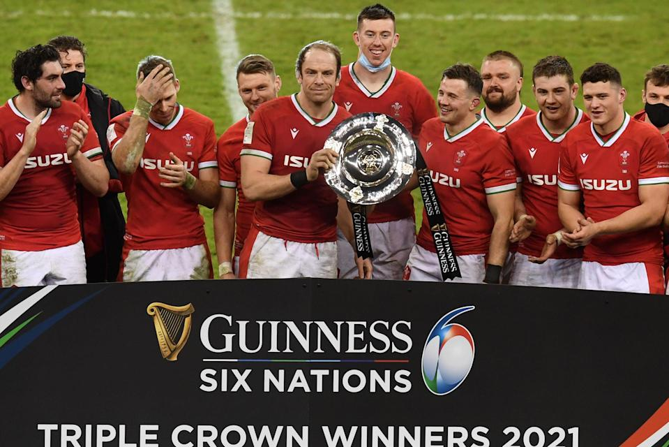 <p>Wales won their first Six Nations Triple Crown since 2019</p> (AFP via Getty Images)