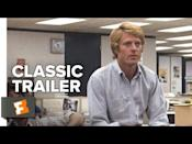 """<p>You know the story on this one. Bob Woodward (Robert Redford) and Carl Bernstein (Dustin Hoffman) are a pair of investigative reporters for the <em>Washington Post </em>who """"follow the money"""" and eventually uncover the secrets of the infamous Watergate scandal. This is a piece of film history, and for good reason. </p><p><a class=""""link rapid-noclick-resp"""" href=""""https://play.hbomax.com/feature/urn:hbo:feature:GXv4FpQly4LnDHQEAAANe"""" rel=""""nofollow noopener"""" target=""""_blank"""" data-ylk=""""slk:Stream It Here"""">Stream It Here</a></p><p><a href=""""https://youtu.be/DC3YFyah_Yg"""" rel=""""nofollow noopener"""" target=""""_blank"""" data-ylk=""""slk:See the original post on Youtube"""" class=""""link rapid-noclick-resp"""">See the original post on Youtube</a></p>"""