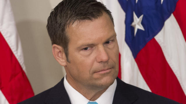 Kris Kobach Begins To Show Why He Thinks There's Widespread Voter Fraud In Kansas