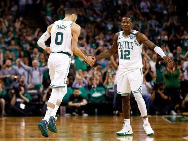The Boston Celtics, reinvigorated by a return home, beat the Cleveland Cavaliers 96-83 on Wednesday to move within one win of reaching the NBA Finals.