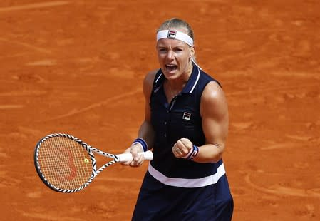 WTA Tour: Kiki Bertens makes first grass-court final