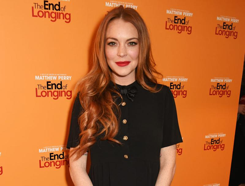 Icymi Lindsay Lohan Is Now Rocking A Much Different Haircut