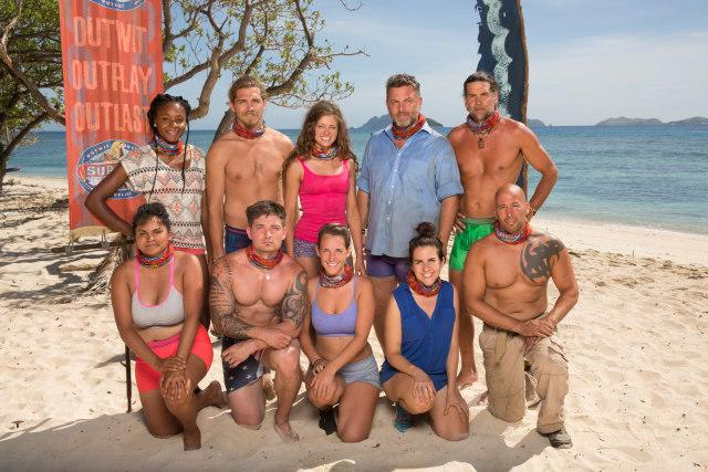 Mana tribe cast photo for Survivor: Game Changers