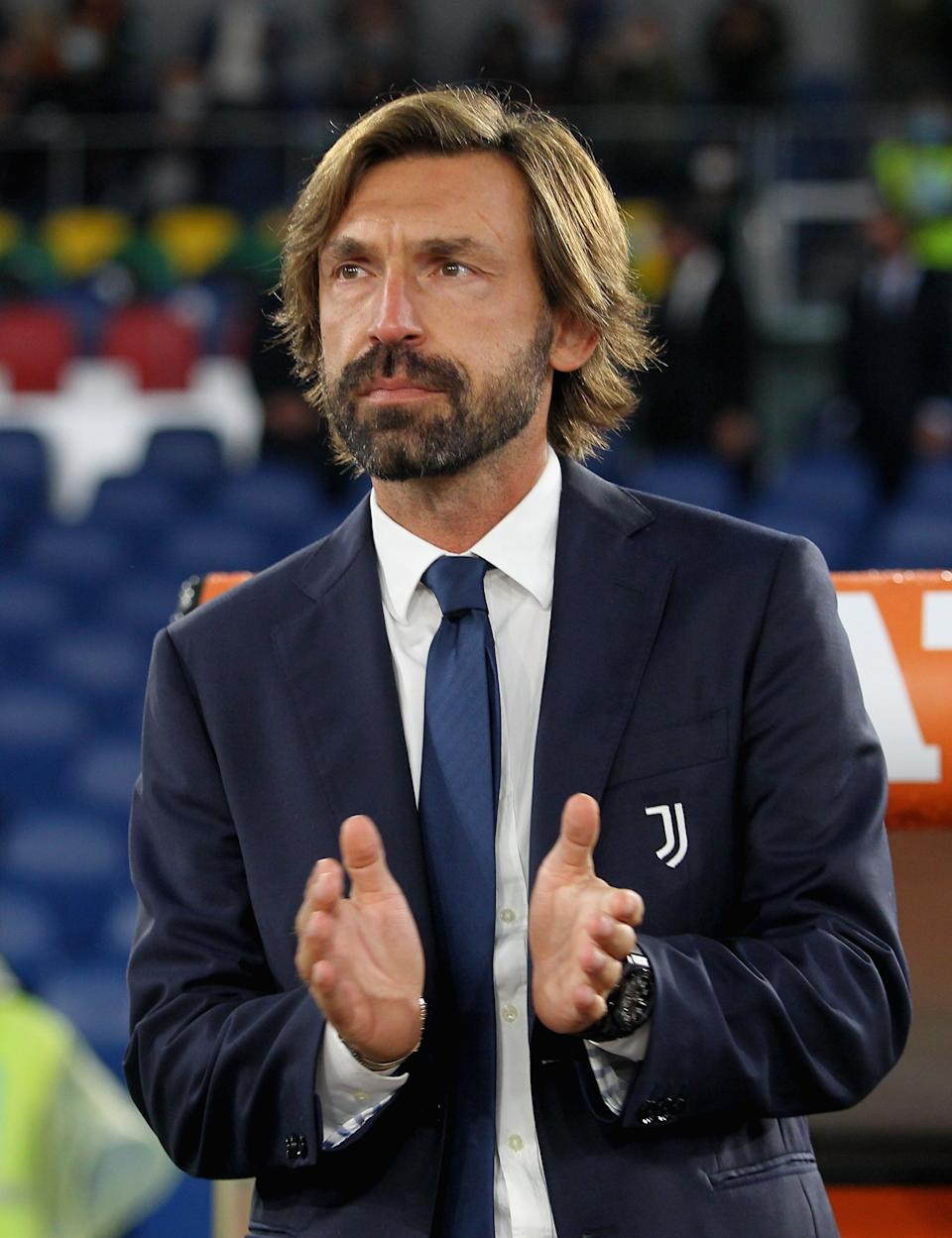 Pirlo is now in charge of JuventusGetty