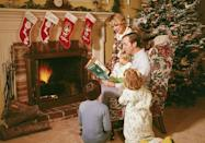 """<p>Jólabókaflóð, or <span class=""""redactor-unlink"""">Christmas Book Flood</span>, is an annual tradition of <a href=""""https://www.housebeautiful.com/lifestyle/g13515521/amazon-best-books-of-2017/"""" rel=""""nofollow noopener"""" target=""""_blank"""" data-ylk=""""slk:giving books as gifts"""" class=""""link rapid-noclick-resp"""">giving books as gifts</a> on Christmas Eve and then spending the rest of the night reading. This tradition has earned Iceland the distinction of publishing more books per capita than any other country. Iceland also has some fascinating Christmas folklore including the Yule Cat, a vicious feline who roams the countryside looking to eat children who didn't receive new clothes to wear on Christmas.</p>"""