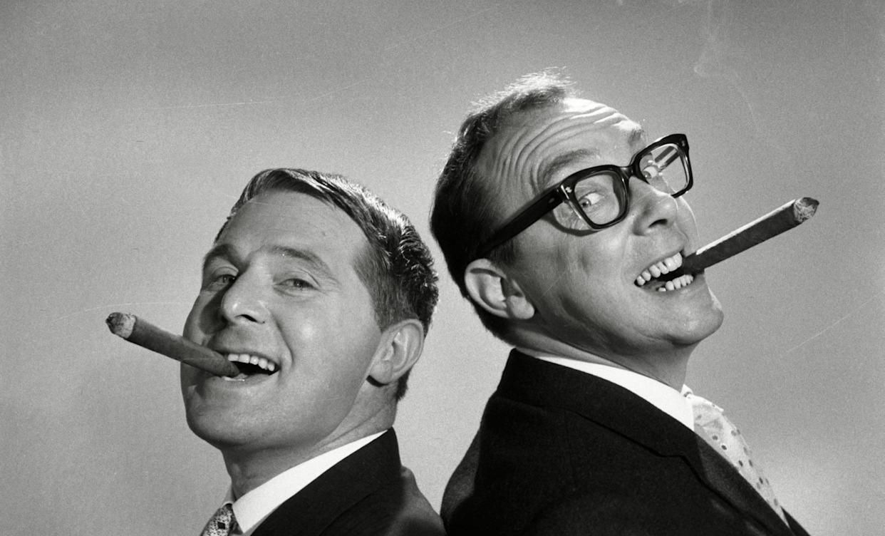 Morecambe and Wise: The Lost Tapes. (ITV)