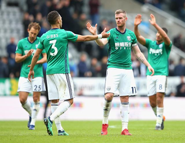 West Brom beat Newcastle 1-0 to complete an unbeaten April in the Premier League. (Getty)