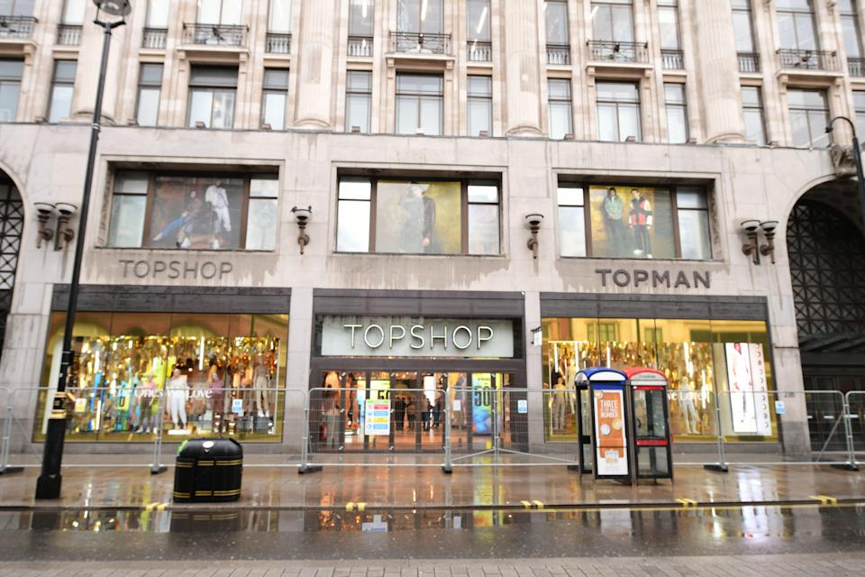 Topshop Oxford Circus (PA Wire)