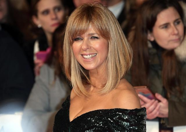 Kate Garraway attends the National Television Awards in 2017 (Fred Duval/FilmMagic)