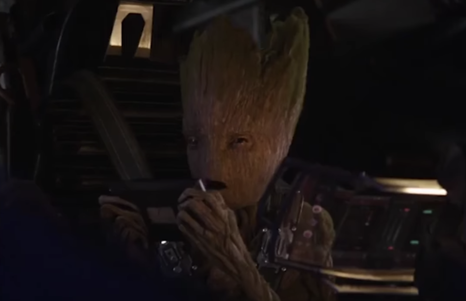 Groot saves the galaxy… in video-game form. (Photo: Marvel Studios)
