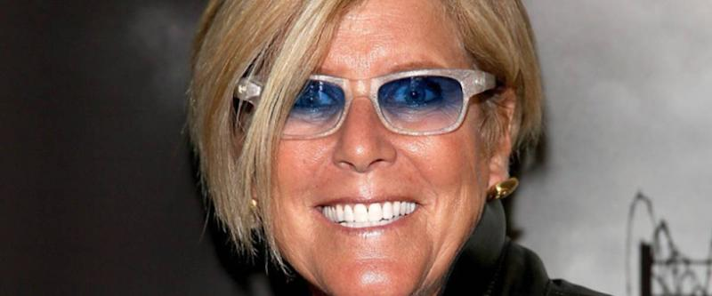 Suze Orman in sunglasses