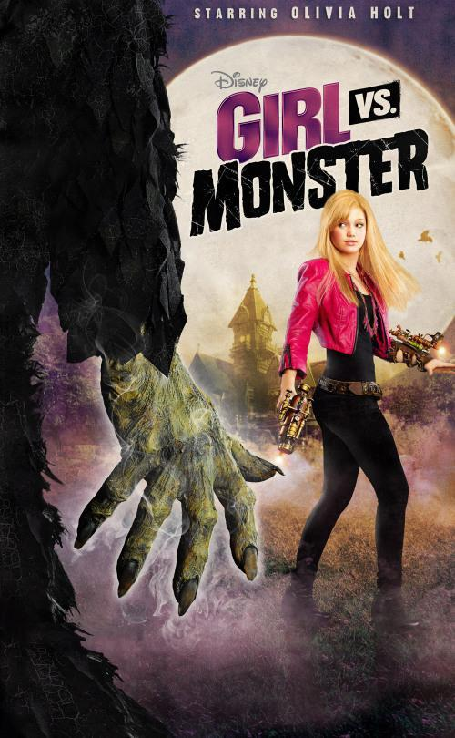 """<p>Olivia Holt stars as Skylar, a """"sassy teen"""" who has zero f–ks to give about monsters, not even when they abduct her parents. Those fools are monster hunters, they need to deal with it. <em>(Credit: Disney Channel)</em> </p>"""