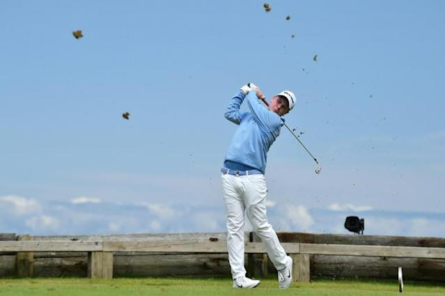 MacIntyre finished tied-sixth at this year's British Open (AFP Photo/Glyn KIRK )