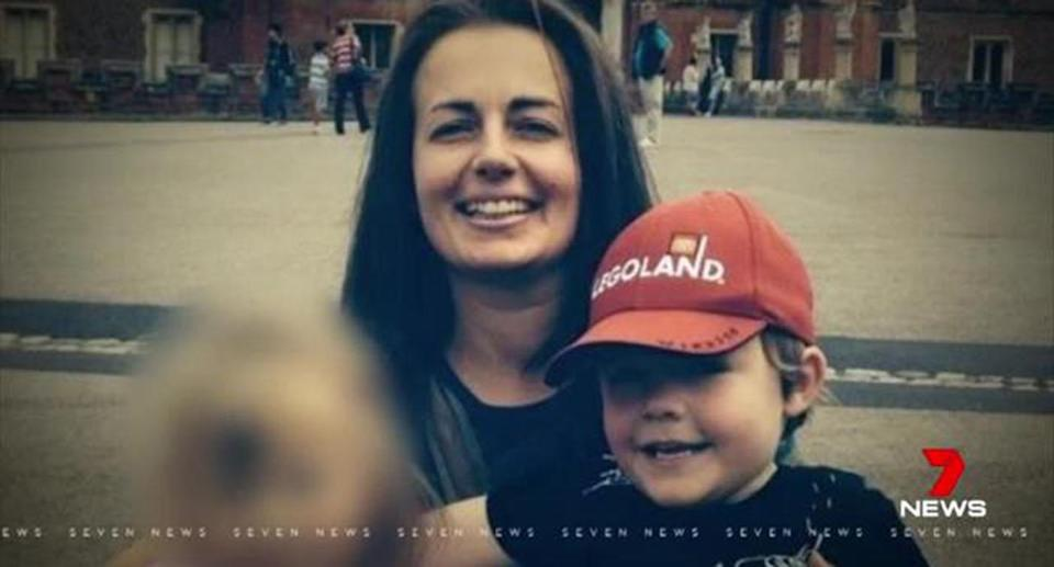 Joanne Finch was accused of murdering her eight-year-old son. Source: 7 News