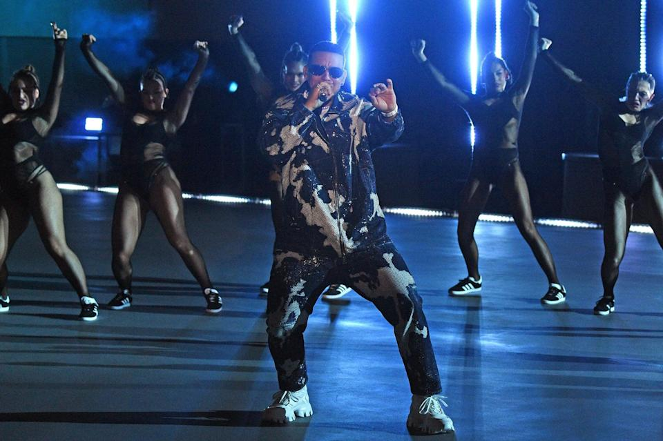 <p>Daddy Yankee put on an electrifying performance that was surely a sight to see.</p>