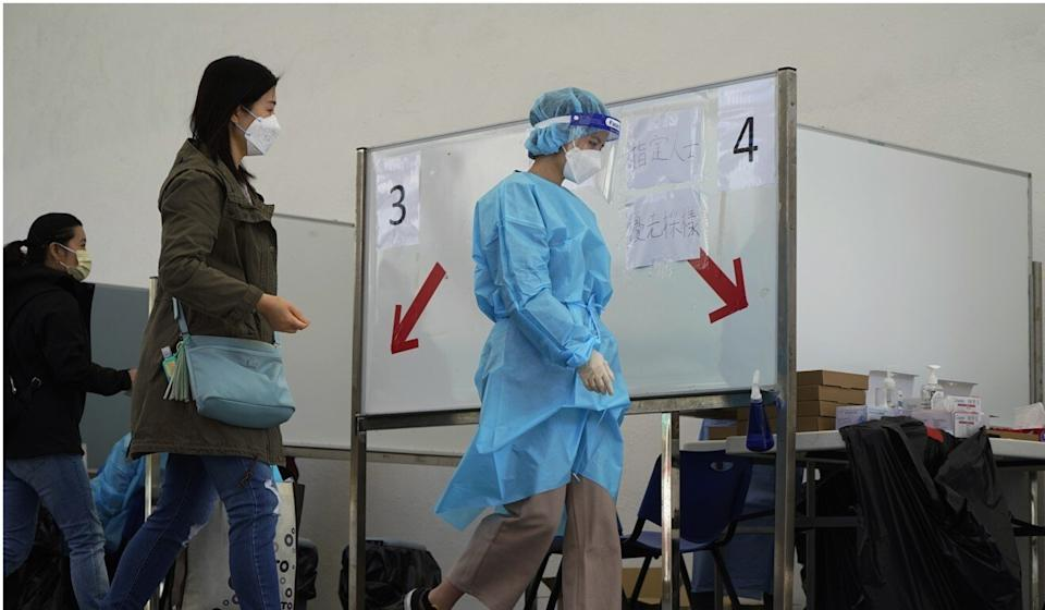 Hong Kong is already suffering from its fourth wave of Covid-19 cases. Photo: AP