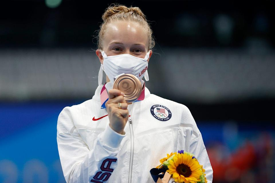 """<p>Biography: 29 years old</p> <p>Event: Women's individual 3m springboard diving</p> <p>Quote: """"We have really strong springboard divers in the USA right now, and if it wasn't me, it could've been one of them. So carrying that level to the international stage has been exciting … it's exciting to just make a little more history.""""</p>"""