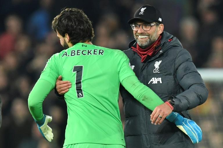 Liverpool appear to be sailing to the Premier League title but the battle against relegation is developing into a nail-biter