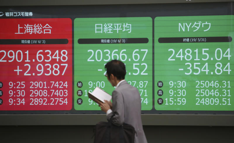 World markets wobble as US, China trade jibes over trade