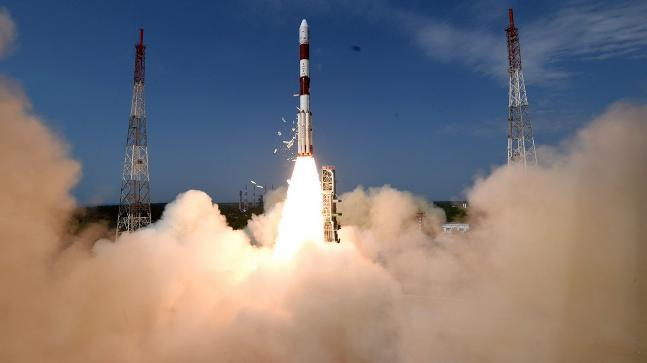 Setting a benchmark today, the ISRO launched its 100th satellite along-with 30 others in a single mission.