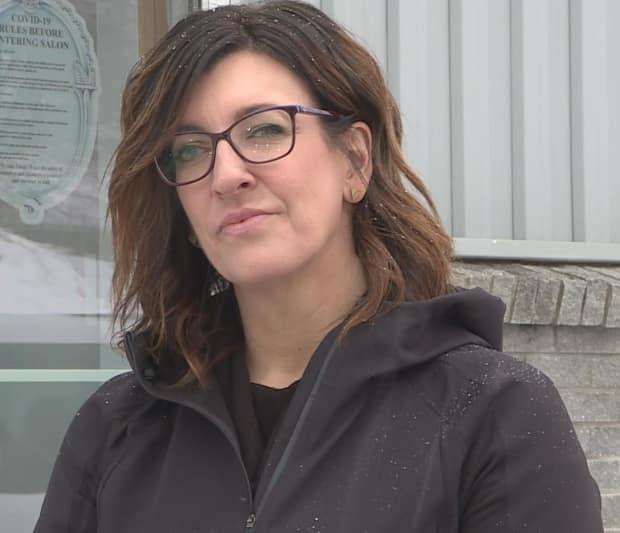 Tash Noble, owner of Tash's Studio in Corner Brook, says the west coast of Newfoundland is in a much different place when it comes to COVID-19 case counts.  (Colleen Connors/CBC - image credit)