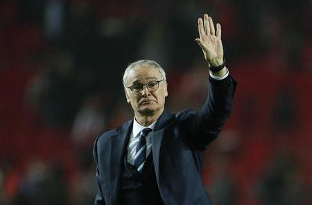 Leicester City manager Claudio Ranieri after the match