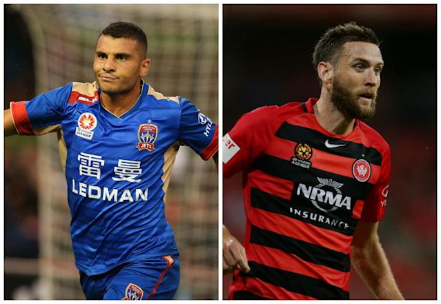 Western Sydney could finish the weekend in fifth spot if they continue their strong form, while the Jets could drop to the bottom of the table