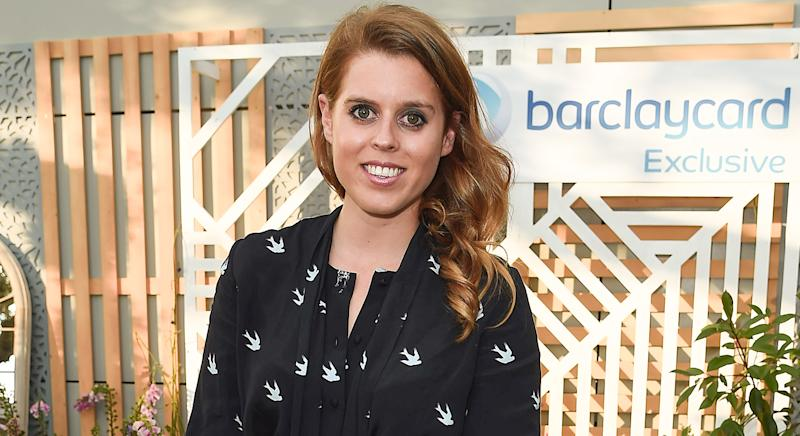 Princess Beatrice wears Accessorize hair clips for interview with Made By Dyslexia charity