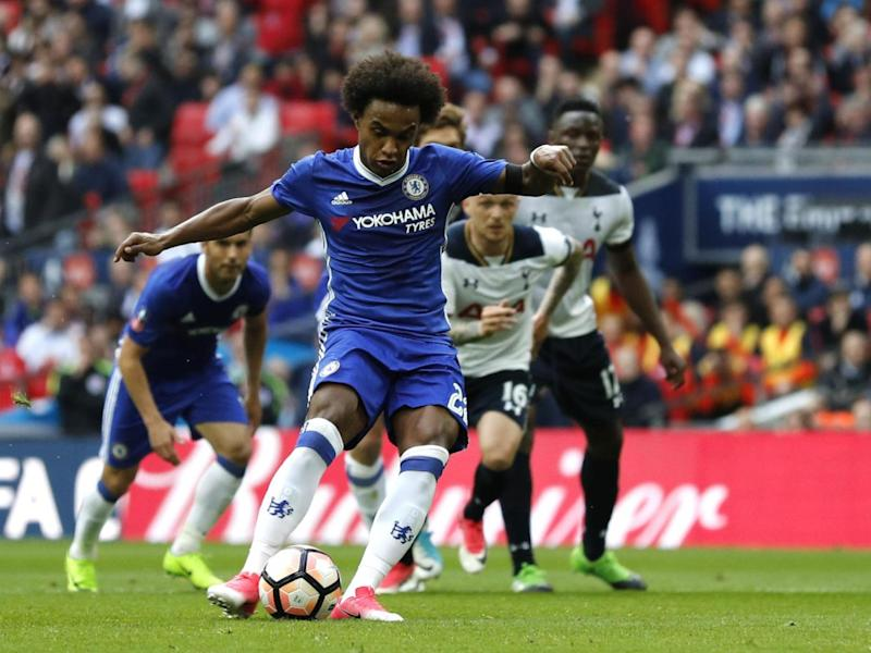 Willian scored a penalty and a free kick (Getty)