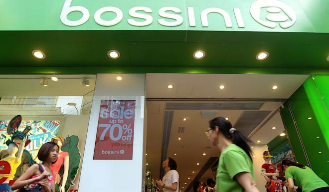 Clothes shop chain Bossini is one of the latest Hong Kong retailers to see sales hit hard by the protest rallies. Photo: K. Y. Cheng