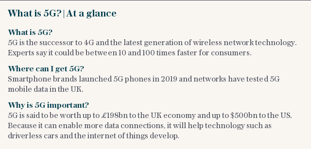 What is 5G? | At a glance