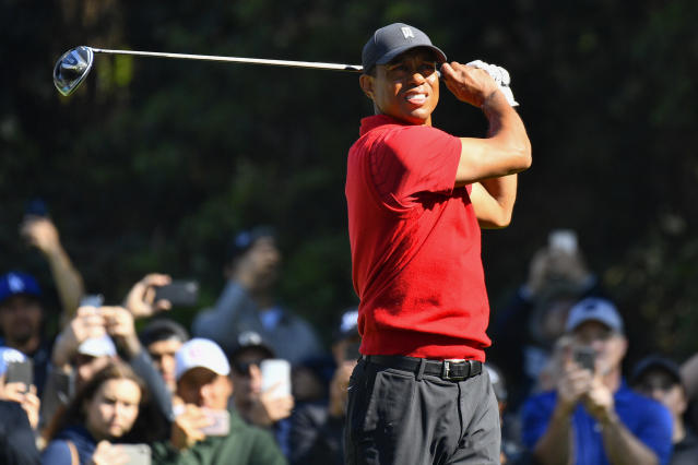 Tiger Woods will now miss the PGA Tour's first two events since it restarted the season following a nearly three-month coronavirus hiatus. (Brian Rothmuller/Icon Sportswire/Getty Images)