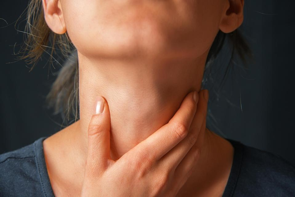 <span>Problems with breathing or asthma are a fatal symptom of an allergic reaction. [Photo: Getty]</span>