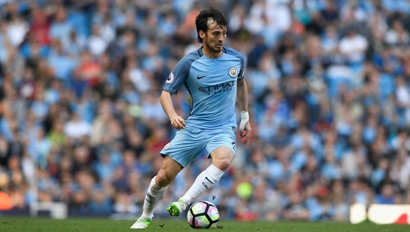 Manchester City Players Describe What Makes David Silva Special After Midfielder Reaches 300 Games