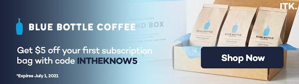 blue bottle promo code
