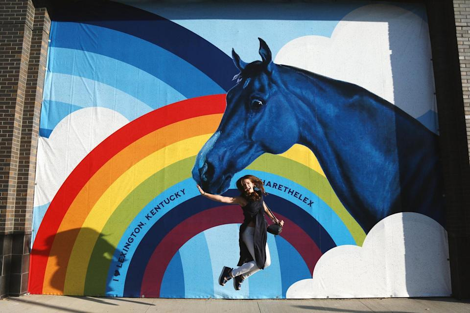 """<p>Stroll through Lexington, Kentucky to find all the colorful street-art installations laced throughout the city's downtown. There are more than 30, including the famous 30x70-ft <a href=""""https://www.visitlex.com/guides/post/the-street-art-guide/"""" rel=""""nofollow noopener"""" target=""""_blank"""" data-ylk=""""slk:Louis Armstrong wall,"""" class=""""link rapid-noclick-resp"""">Louis Armstrong wall, </a>which was painted by graffiti artist Sérgio Odeith after his first mural was accidentally power-washed away. <a href=""""https://www.visitlex.com/things-to-do/all-attractions/mural-challenge/"""" rel=""""nofollow noopener"""" target=""""_blank"""" data-ylk=""""slk:Click here"""" class=""""link rapid-noclick-resp"""">Click here</a> for a full list and map. </p>"""