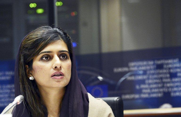 Pakistani Foreign Minister, Hina Rabbani Khar, addressing the Foreign Affairs Commission of the European Parliament at the EU Parliament in Brussels, on December 3, 2012. A ceasefire has taken hold in disputed Kashmir after the Indian and Pakistani armies agreed to halt deadly cross-border firing that had threatened to unravel a fragile peace process