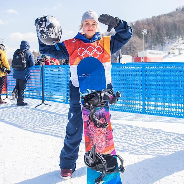 <p>Aimee Fuller Great Britain, snowboard<br> aimee_fuller: Thumbs down. #pyeongchanggust got me good. Conditions were rough out on the field today. Gave it everything I had in the tank. Sometimes it's just the way it blows… literally. But next up is Big Air next week. Bring it on. @andyjryanphoto<br>(Photo via Instagram/aimee_fuller) </p>