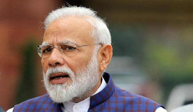 """Indian Prime Minister Narendra Modi tweeted after the successful test that """"very few countries have such capability"""". Photo: Reuters"""