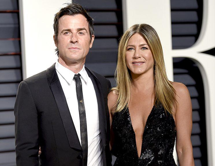 Justin Theroux and Jennifer Aniston are not candy lovers. (Photo: Evan Agostini/Invision/AP)