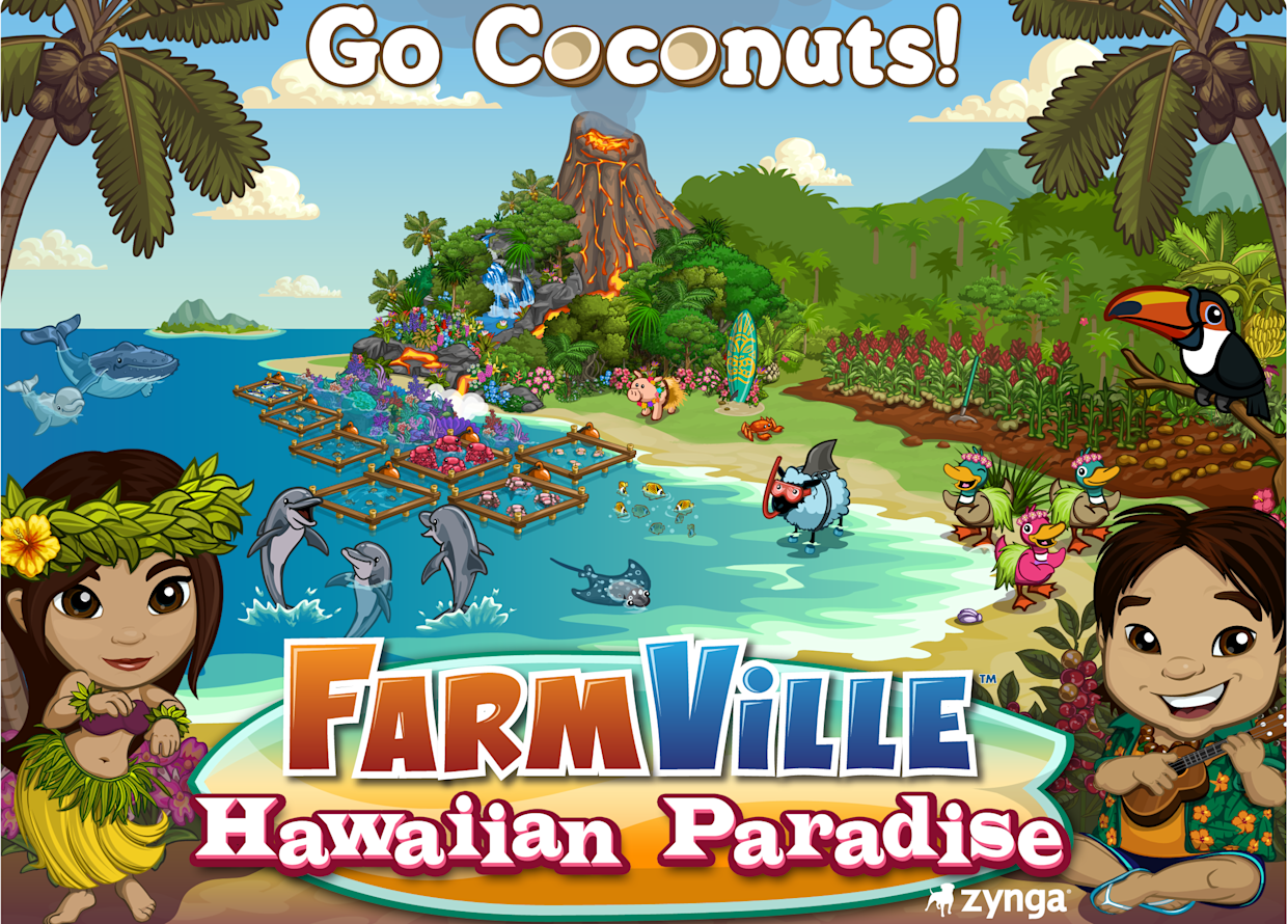 FarmVille Hawaiian Paradise