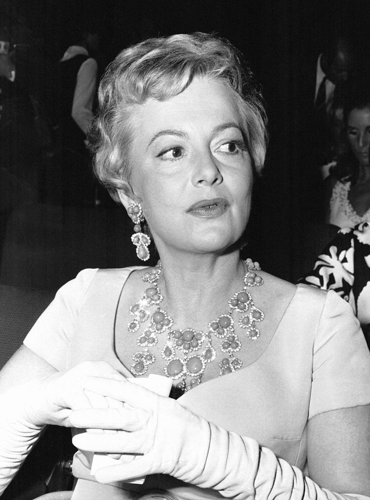 <p>The actress at the <em>Gone with the Wind </em>premiere in 1967.</p>