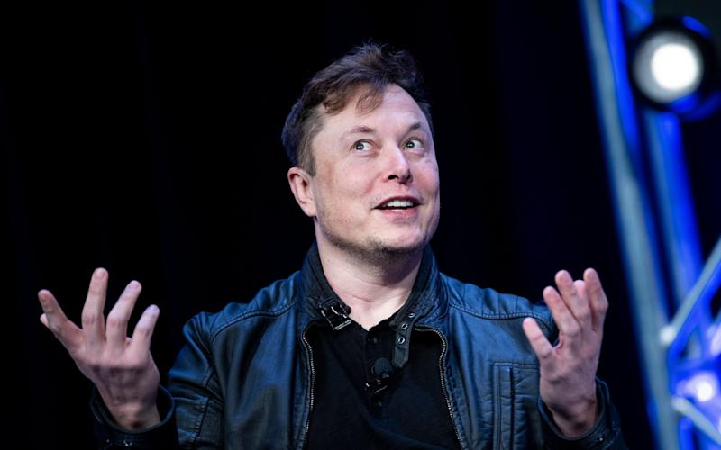 Elon Musk earned the payday as part of an audacious compensation package approved by the board in 2018 - BRENDAN SMIALOWSKI/AFP