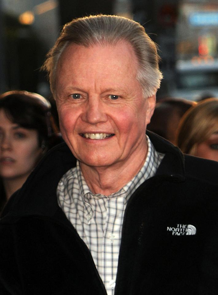 "<a href=""http://movies.yahoo.com/movie/contributor/1800018586"">Jon Voight</a> at the Los Angeles premiere of <a href=""http://movies.yahoo.com/movie/1810063108/info"">Kick-Ass</a> - 04/13/2010"