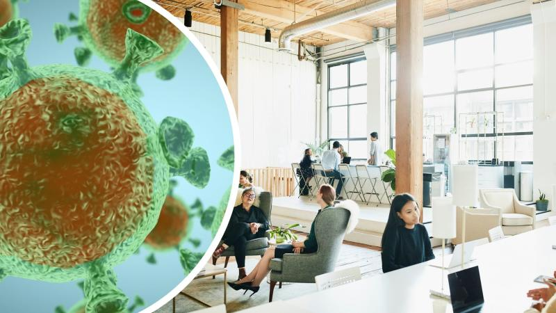 Is this what the office of the future will look like? Images: Getty