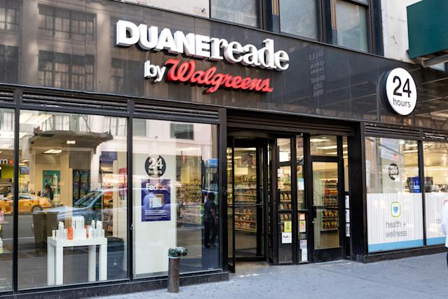 A Duane Reade store in New York City. (Photo: Michael Brochstein/SOPA Images/LightRocket via Getty Images)