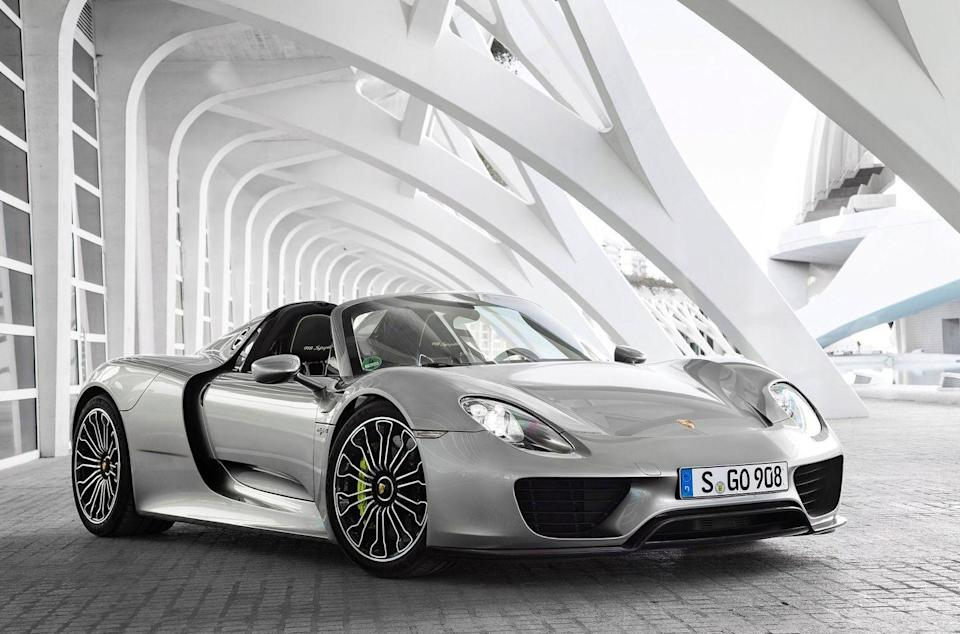 <p>It's a hybrid! An 887-horsepower hybrid that's one of the quickest production cars ever built.</p>