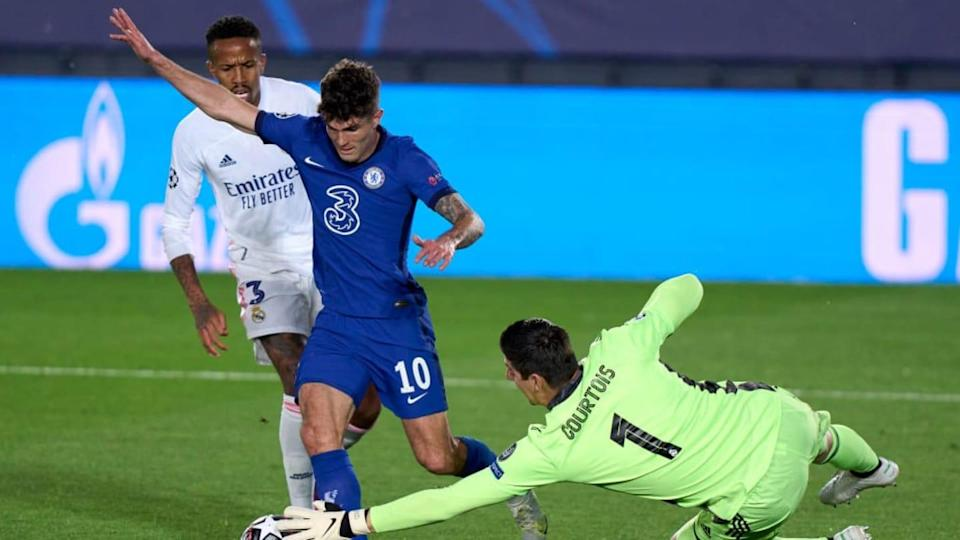 Courtois contro il Chelsea | Quality Sport Images/Getty Images