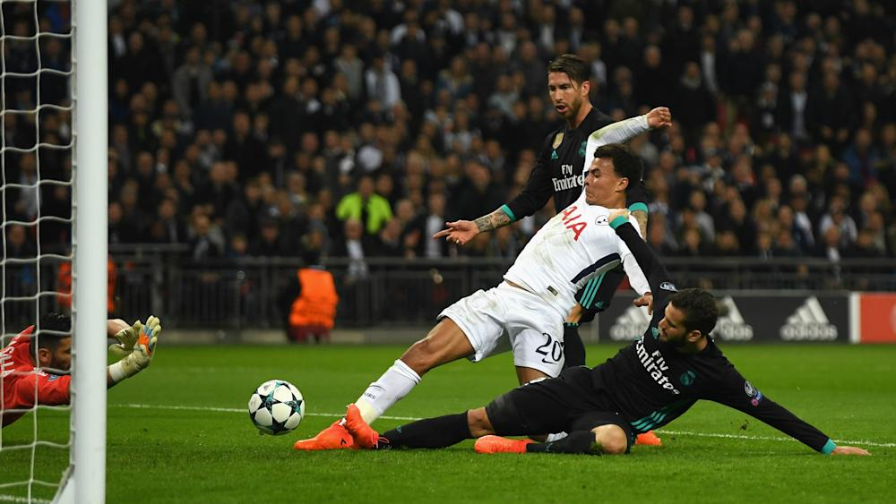 Dele Alli Nacho Tottenham Real Madrid Champions League